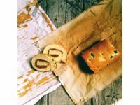 蔥香肉鬆蛋糕捲
