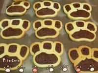 可愛貓掌餅乾