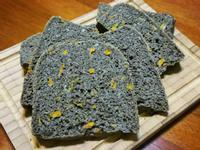 黑芝麻醬南瓜吐司(麵包機)