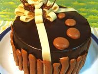 ~冬之森~重乳酪心巧克蛋糕