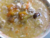 南瓜雞肉粥