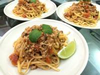 泰式紅醬義大利麵
