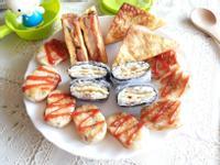 薯餅飯糰烤雞法式吐司餐盒-小七野餐趣