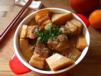 五花肉滷毛竹筍