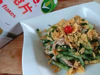 脆口黃瓜雞絲溫沙拉『雀巢玉米脆片』