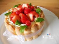 果子菓子 ♥ 草莓乳酪夏洛特
