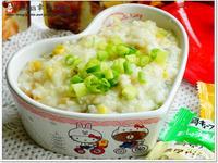 玉米雞蓉粥【全聯快炒包料理】