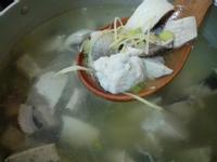 虱目魚湯(皮、肚、丸)