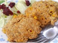 鮪魚玉米燕麥煎餅