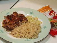 泰式椒麻雞佐泡麵『記憶中的味味麵』