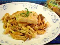 香煎魚片佐奶油好菇-好菇道美味家廚