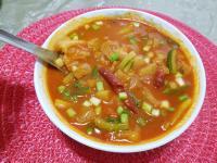 韓式五花肉辣醬湯