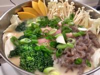 嫩雞辣味噌豆漿鍋