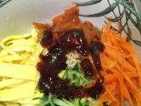韓式拌麵~記憶中的味味麵