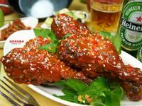 韓式辣味雞腿