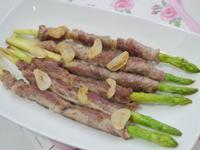 蒜香蘆筍豬肉捲