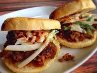 亞洲風味肉丸子漢堡