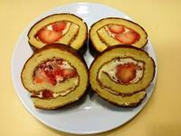 🍓草莓乳酪蛋糕捲🍓清爽好綿密