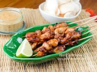沙嗲烤雞肉串