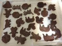 巧克力動物造型餅乾