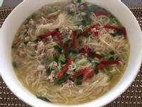 麻油麵缐湯