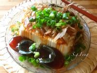 涼拌柴魚皮蛋豆腐