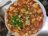 糖醋蝦仁豆腐