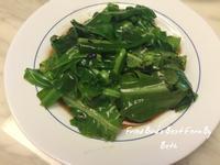 麻油豆豉炒山蘇(素)