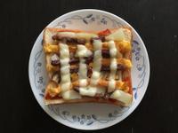牛肉香菇吐司披薩