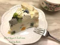 鮮果優格冰淇淋蛋糕(免烤箱)
