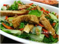 豆包素炒鵝吖白菜