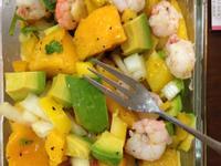夏季涼爽健康瘦身食譜~酪梨鮮蝦芒果沙拉