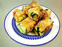 清爽好吃:小黃瓜豬肉捲