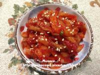 韓式生醃魷魚오징어젓갈