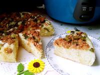 肉鬆蔥花鹹蛋糕-牛頭牌厲害電鍋