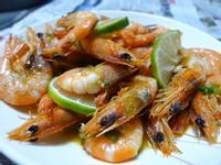 椒鹽檸檬蝦