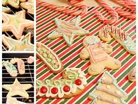 手製聖誕節糖霜餅乾