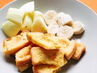 <早餐>蜂蜜水果法式吐司