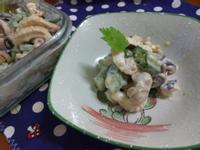 涼拌味噌秋葵章魚