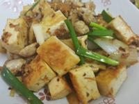 干貝醬燴豆腐