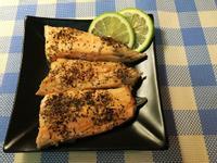 檸檬烤鮭魚