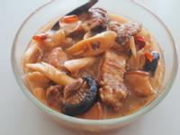 桂竹筍與軟爛三層肉