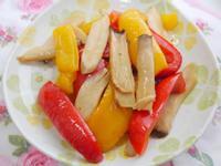 涼拌燒烤雙椒杏鮑菇