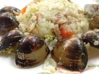 電鍋料理奶油蛤蠣紅蘿蔔甜椒煲飯