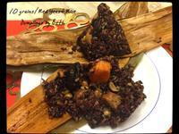 養生紅麴十穀米素粽