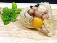干貝蛋黃粽~~