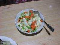筊白筍炒毛豆