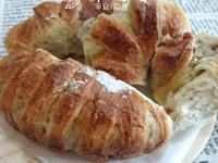 脆皮蔓越莓起司麵包(免揉)