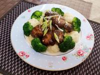 鮮香菇燴花椰菜