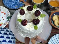 [吃甜甜]櫻桃蔓越莓戚風蛋糕